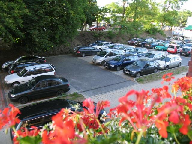 Krynica Morska parking